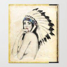 Like a native Canvas Print