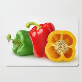Multicolored peppers Cutting Board