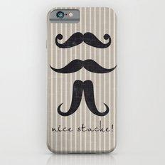 Nice Stache! Slim Case iPhone 6s