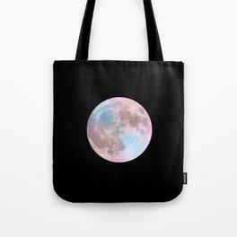 Iridescent Dark Moon Tote Bag