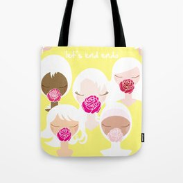 Let's End Endo - It's Okay to Talk Tote Bag