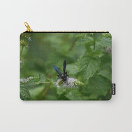 Scolia dubia a.k.a The Blue Winged Wasp Carry-All Pouch
