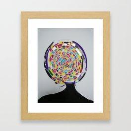 Mind Reflection - Contemporary Art Framed Art Print