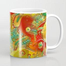 Glass Fusion 3D Fractal Coffee Mug