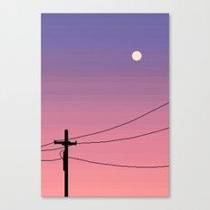 Powerline Canvas Print