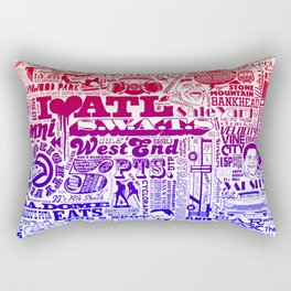 ATL. Rectangular Pillow
