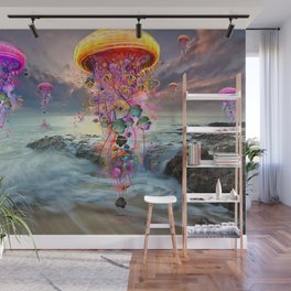 On Distant Shores Wall Mural