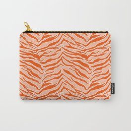 Tiger Print - Orange Carry-All Pouch