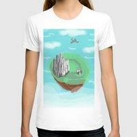 castle in the sky T-shirts featuring Sky Castle by wkdowd