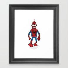 Spenderman Framed Art Print