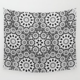 Magical black and white mandala 010 Wall Tapestry