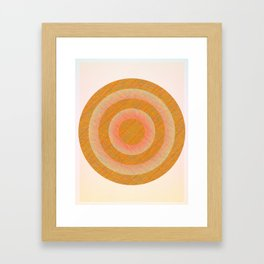To Your Core. Framed Art Print