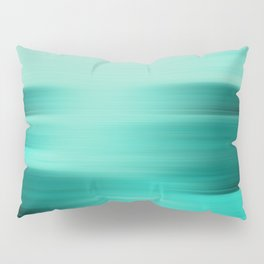 """Abstract Ocean Porstroke (Pattern)"" Pillow Sham"