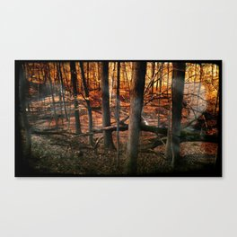 Sky Fire - surreal landscape photography Canvas Print