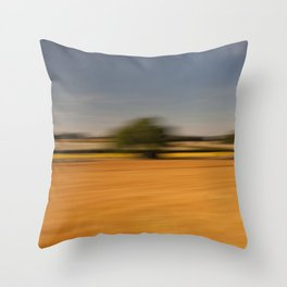 Moving Linseed Throw Pillow