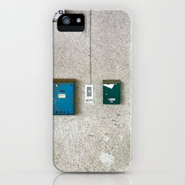 Tel Avivian Mail Boxes - Urban Photography iPhone Case