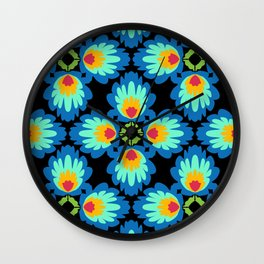 Folklore Rythmes Kaleidoscope Wall Clock