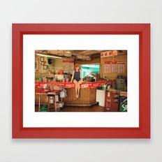 Fast Food Framed Art Print