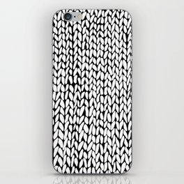Hand Knitted Loops iPhone Skin