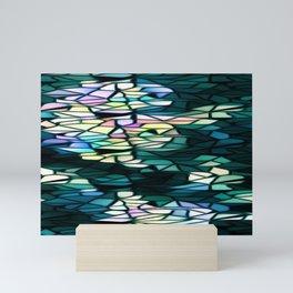 Heart Of Mosaic Mini Art Print