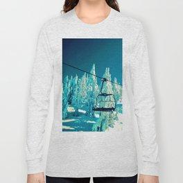 Northwest Chair Mt. Bachelor Long Sleeve T-shirt