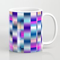 blur Mugs featuring Blur by Aimee St Hill