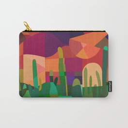 Botanical Wonderland - Cactus Garden Bybrije Carry-All Pouch