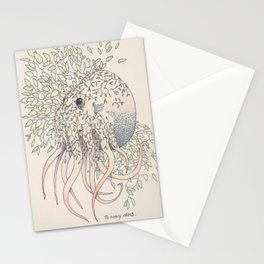 Too many arms Stationery Cards