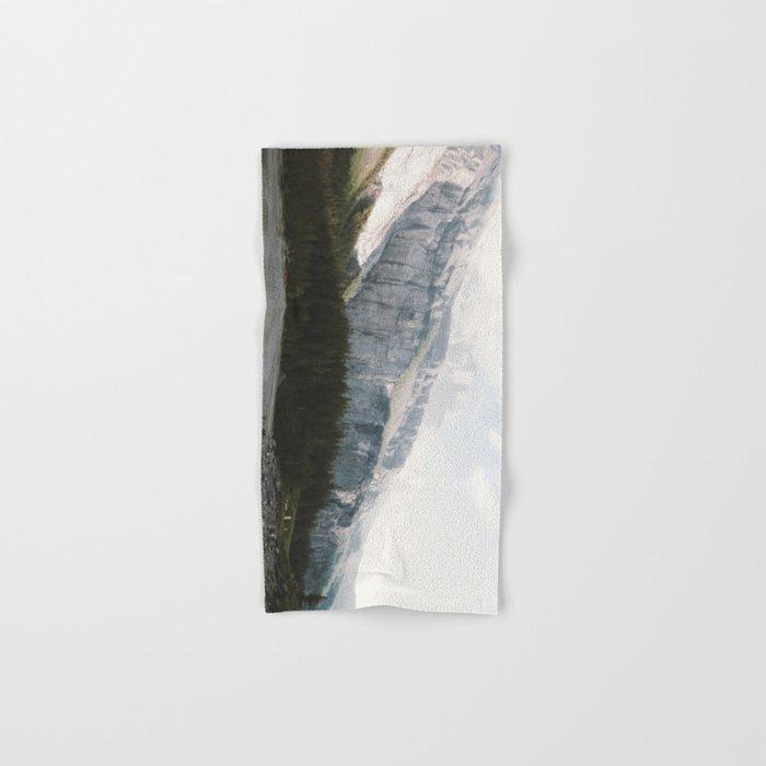 Airy Mountain Lake - Landscape Photography Hand & Bath Towel