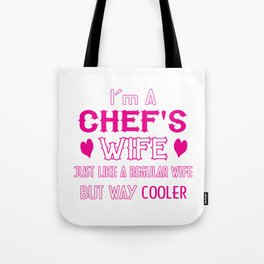 Chef's Wife Tote Bag