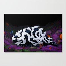 Urban Crawl Canvas Print