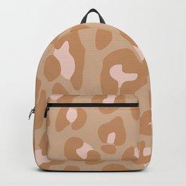 Hazelnut Leopard Backpack