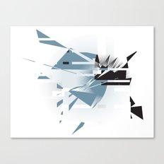 Badaboom! Canvas Print
