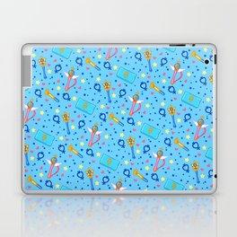 Sailor Mercury Pattern / Sailor Moon Laptop & iPad Skin