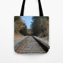 Country Tracks Tote Bag