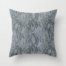 BOA SKIN (PLATINUM) Throw Pillow