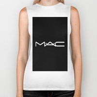 mac Biker Tanks featuring MAC by I Love Decor