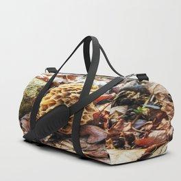 Morel Mushroom in the Wild Duffle Bag