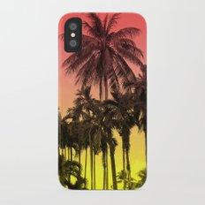palm tree  Slim Case iPhone X