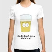 beer T-shirts featuring Beer by Laura Maria Designs
