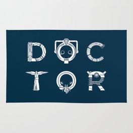 DOCTOR - clean tee print version Rug