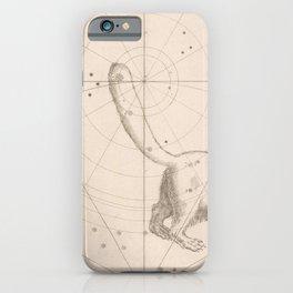 Johann Bayer - Uranometria / Measuring the Heavens (1661) - 01 Ursa Minor / Little Bear iPhone Case