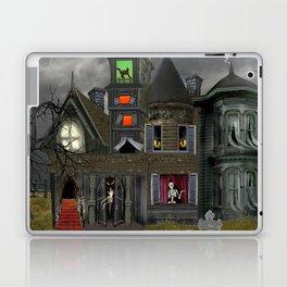 Halloween Haunted Mansion Laptop & iPad Skin