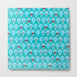 Meeseeks Everywhere Metal Print
