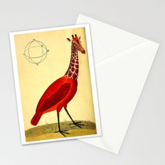 Bird Giraffe Stationery Cards