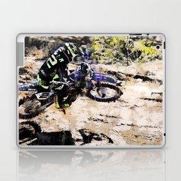 Wild Ride - Motocross Rider Laptop & iPad Skin