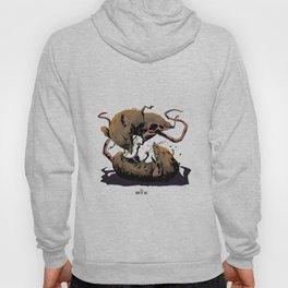 rat fight Hoody