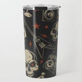 Rock pattern Travel Mug