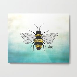 Bumble Bee, Personal Power and Discovery Metal Print
