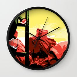Welcome to Hell! Wall Clock